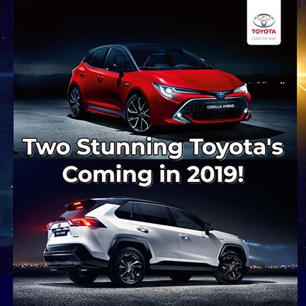 2019 Toyota RAV + Corolla